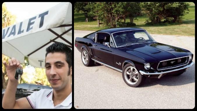 Valet Resists Temptation to Joyride Vintage Mustang