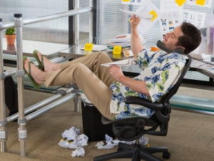 Office Worker Ruins Casual Friday for Everyone